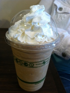 frozen white mocha