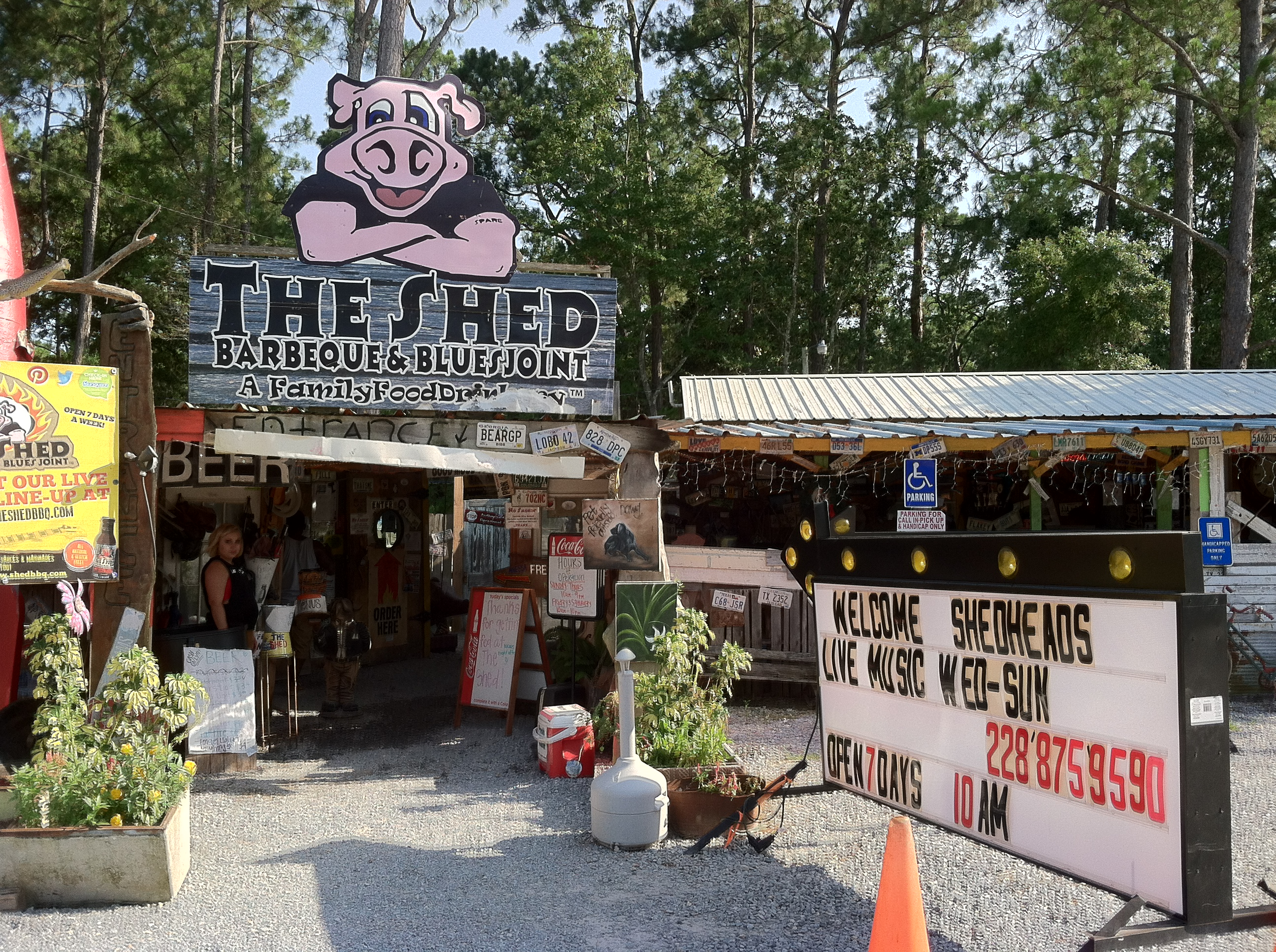 the shed bbq – ocean springs, MS | a regional pairing